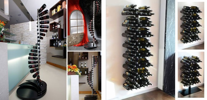 moderne weinregale weinregal modern esigo 5 die 25 besten ideen zu weinregale auf pinterest. Black Bedroom Furniture Sets. Home Design Ideas